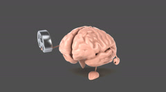Brain - Computer animation Stock Footage