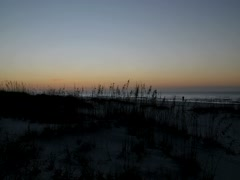 Sunrise:  Gulf of Mexico, Florida Panhandle Stock Footage