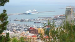The port of Alicante, Costa Blanka Stock Footage