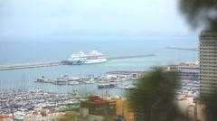 The port of Alicante, Costa Blanka Stock Footage