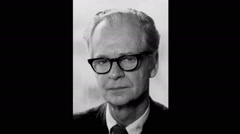 B. F. Skinner and Skinner Boxes, Montage Stock Footage