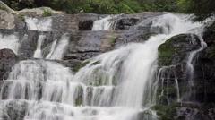 Waterfall: Appalachian Trail, Tennessee Stock Footage