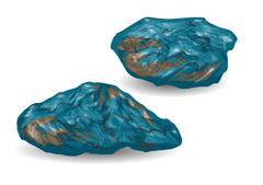 Iron ore Stock Illustration