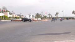 Marrakech city morocco Stock Footage