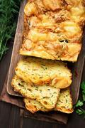 Vegetable moist bread - stock photo