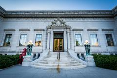 The New Hampshire Historical Society, in Concord, New Hampshire. Stock Photos