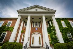 The University of New Hampshire Franklin Pierce Law Center, in Concord, New H Stock Photos