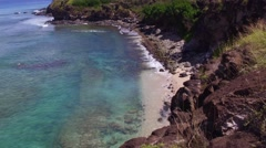 Honolua Bay - Island of Maui, Hawaii Stock Footage