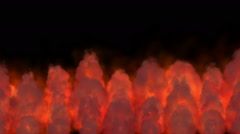fire flame abstract - stock footage