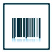 Bar code icon Stock Illustration