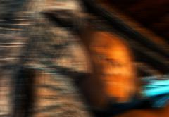 Weird portrait abstraction Stock Photos