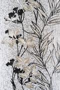 Vertical monochromatic flower texture background backdrop Stock Photos