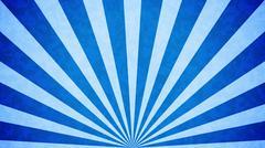 Blue Vintage background. Retro burst. - stock illustration