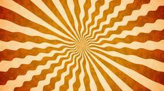 Orange Vintage background. Retro burst. Stock Illustration
