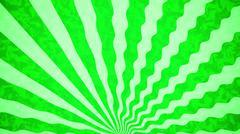 Green Sunbeams grunge background. A vintage poster. Stock Illustration