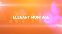 Elegant Montage Stock After Effects