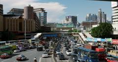 Hong Kong Traffic Stock Footage