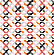 Vector Geometric Circle Pattern Background Stock Illustration
