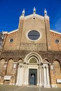 Santi Giovanni e Paolo chruch in Venice Italy Stock Photos