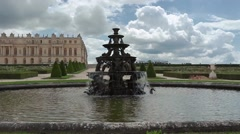 Versailles chateau. France. Royal residence near Paris. King's quarters. Stock Footage