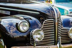 Buick Eight - retro car - stock photo
