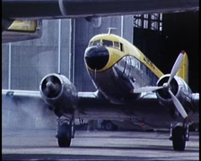 Vintage & Modern Aircraft, 1980s Stock Footage