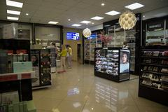 The Minsk airport Stock Photos