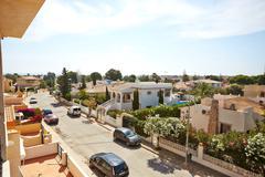 Orihuela, Spain- June 09, 2016: Apartments and villa for tourists near the sea Stock Photos