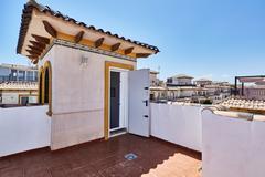 Orihuela, Spain- June 15, 2016: Apartments for tourists near the sea Stock Photos