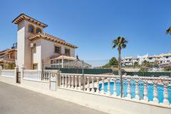 Orihuela, Spain- June 15, 2016: Apartments for tourists near the sea - stock photo