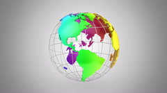 Rotating of Earth Stock Footage