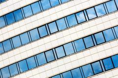 Close-up of modern architecture - stock photo