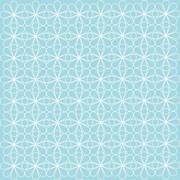 Turquoise geometric background patterns icon Stock Illustration