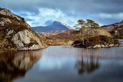 Sutherland, Scottish Highlands, Scotland, United Kingdom, Europe - stock photo