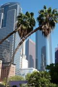 Pershing Square, Los Angeles, California, United States of America, North - stock photo