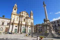 Church of San Domenico, Palermo, Sicily, Italy, Europe - stock photo