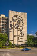 Plaza de la Revolucion, Vedado, Havana, Cuba, West Indies, Caribbean, Central Stock Photos
