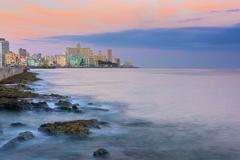 The Malecon, Havana, Cuba, West Indies, Caribbean, Central America Stock Photos