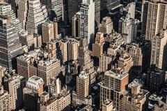 Rooftops, Midtown, Manhattan, New York, United States of America, North America Stock Photos