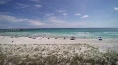 Florida Gulf Coast Aerial Footage Stock Footage