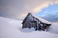 Chorna Tysa Mountain Village, Carpathian Mountains, Ivano-Frankovsk Region, Stock Photos