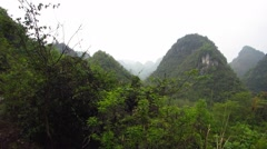 Karst in China Stock Footage