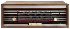 Radio Tuner Cutout - stock photo