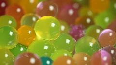 Closeup of sweet Gel Stock Footage