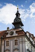 The Jewish Town Hall in Prague, Czech republic Stock Photos