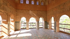 Alhambra Generalife Granada Stock Footage