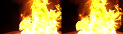 3D Stereoscopic Explosion Set 01 Side by Side 1000fps Slow Motion Stock Footage