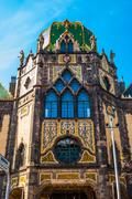 Museum of Applied art, Budapest Stock Photos