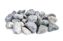 Pebble stones isolate . Kuvituskuvat