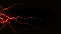 4K Electricity Black Side Stock Footage